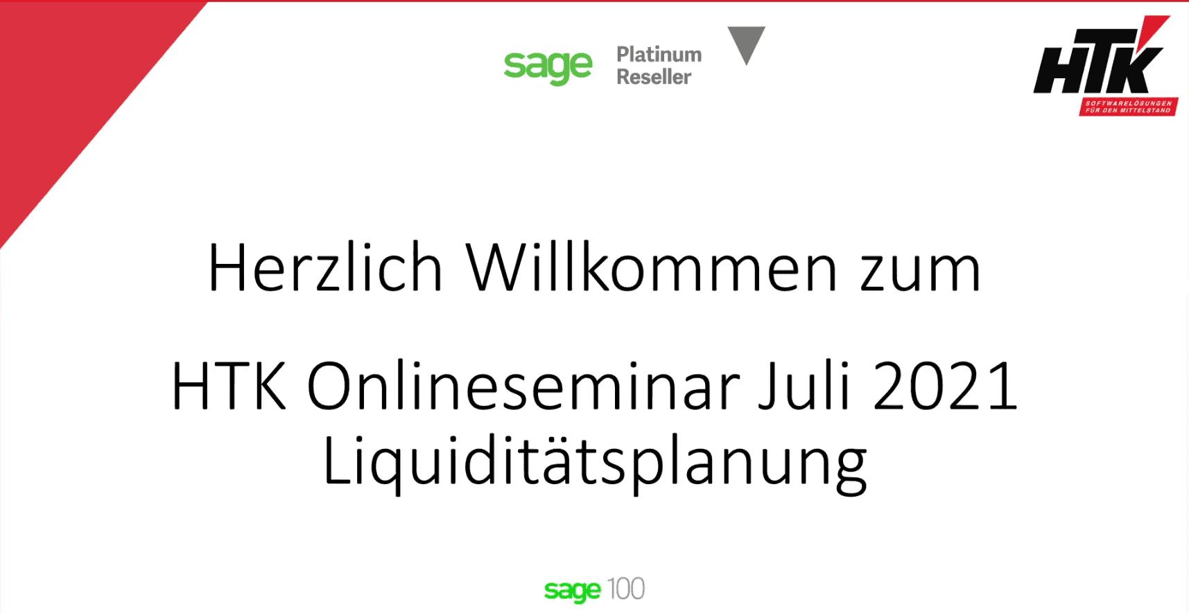 07 Juli Liquiditätsplanung